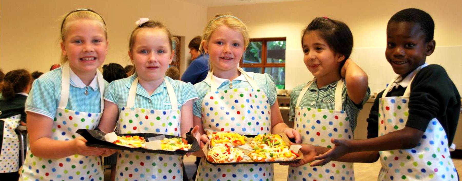 Schools cooking