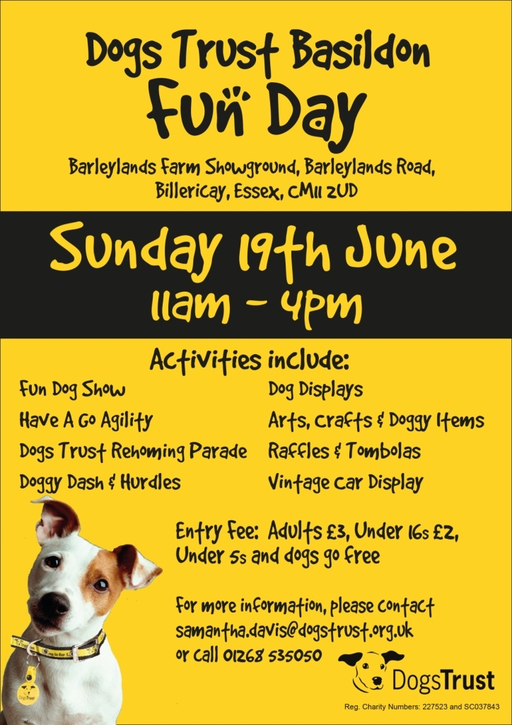 Dogs Trust Open Day Essex