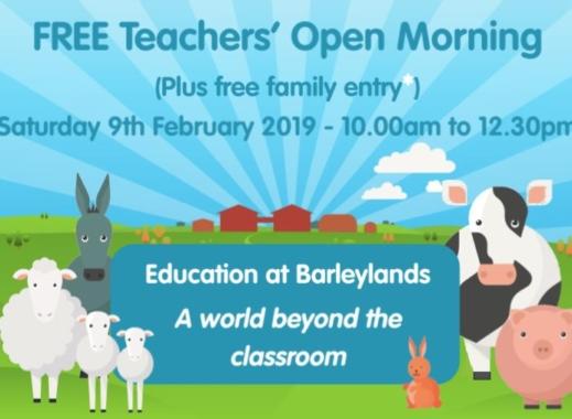 FREE Teachers Open Morning!