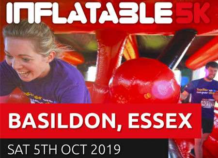 5K Inflatable Obstacle Course