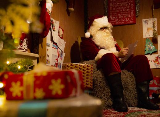 Father Christmas at Barleylands